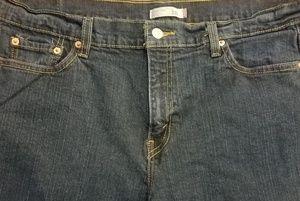 Size 16M Levi's 515 boot cut jeans.